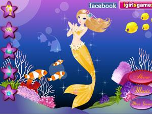 水中美人鱼
